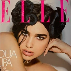 Dua Lipa singer, songwriter, sensation, ELLE 05/19
